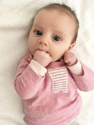 Hungerzeichen des Neugeborenen
